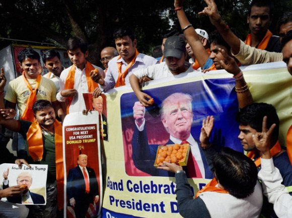 Hindu Sena had offered prayers for Trump's victory