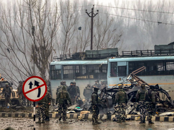 Pulwama attack site