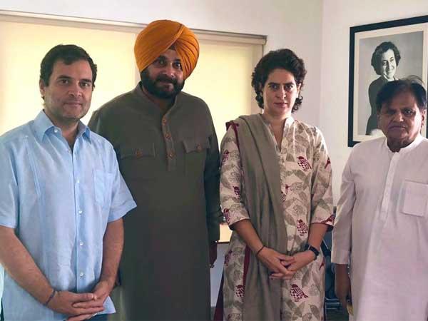 Days after ministry snub Navjot Singh Sidhu meets Rahul