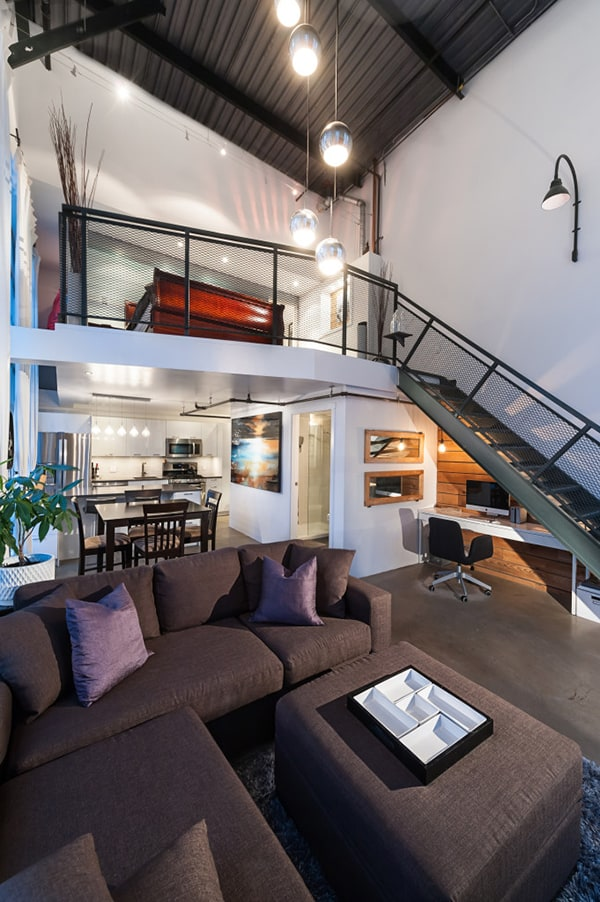 Stunning modern loft in Mount Pleasant Vancouver