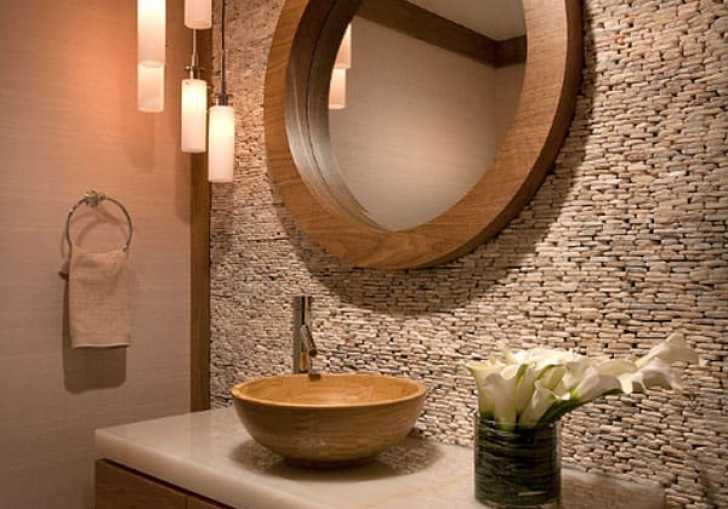 Powder Bath Wallpaper Design Ideas
