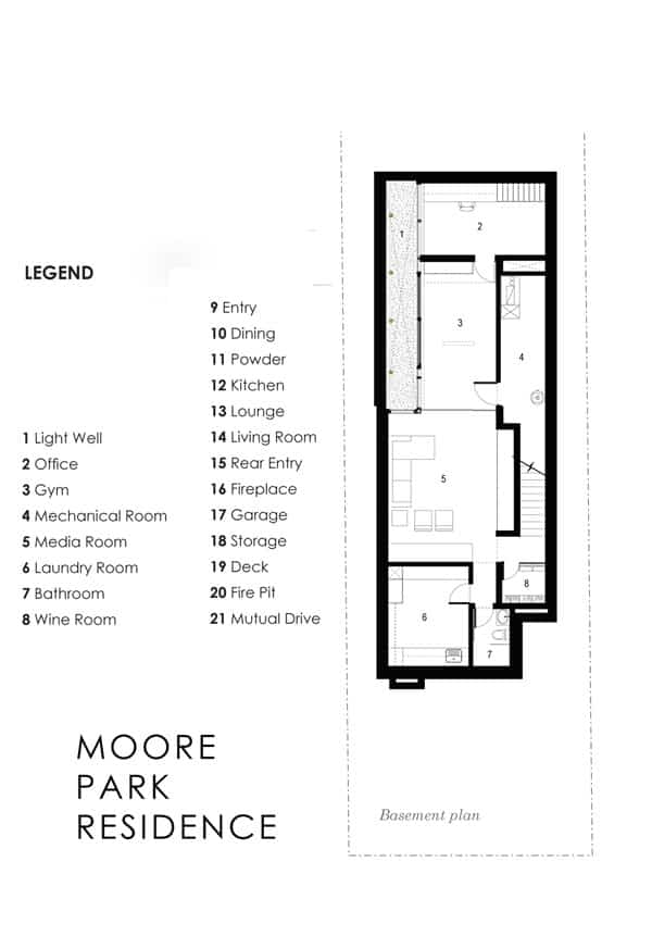 Infill residential project in Toronto: Moore Park Residence