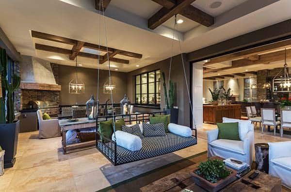 Rustic Eclectic Farmhouse In The Sonoran Desert 1 Kindesign