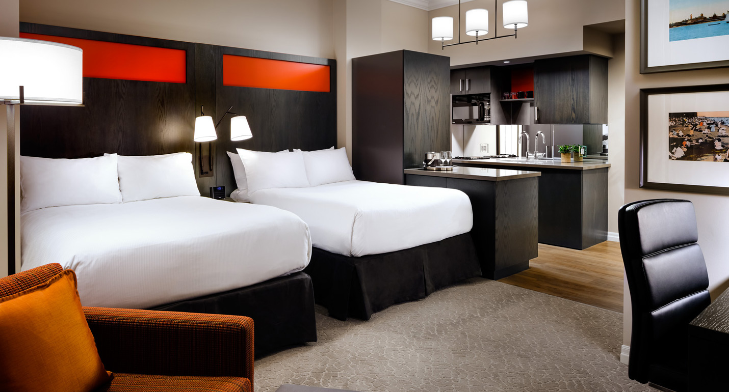 Double Suite  Two Beds  One King West Hotel  Residence