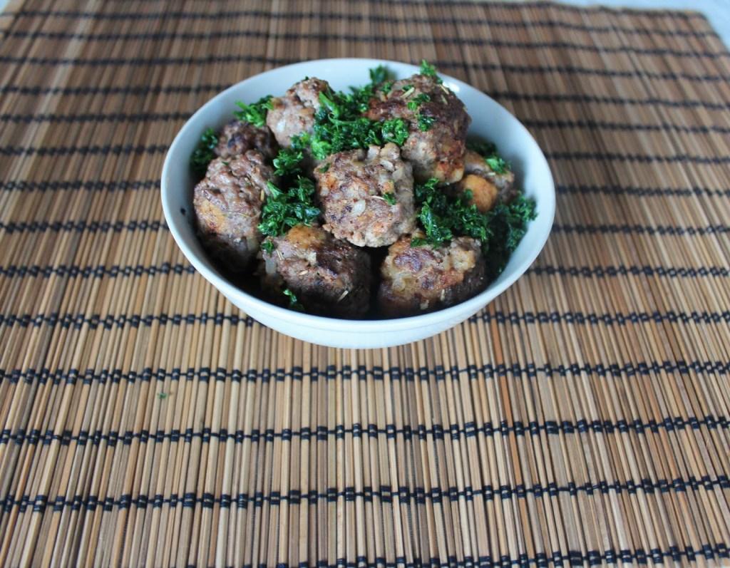 Min Version Af Italienske Kødboller - Hjemmelavede Kødboller