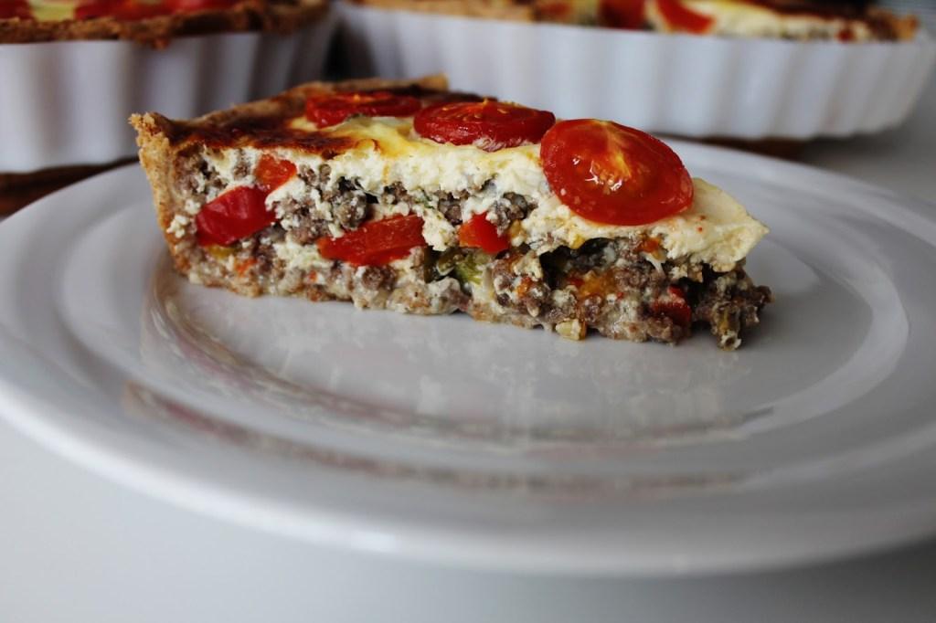 Oksekødstærte Med Peberfrugt - Hjemmelavet Tærte