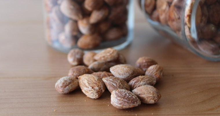 Salt Roasted Almonds With Paprika