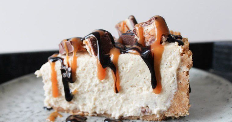 Lækker Snickers Cheesecake