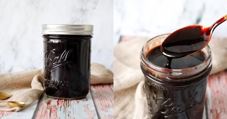 Hjemmelavet Chokoladesauce/sirup