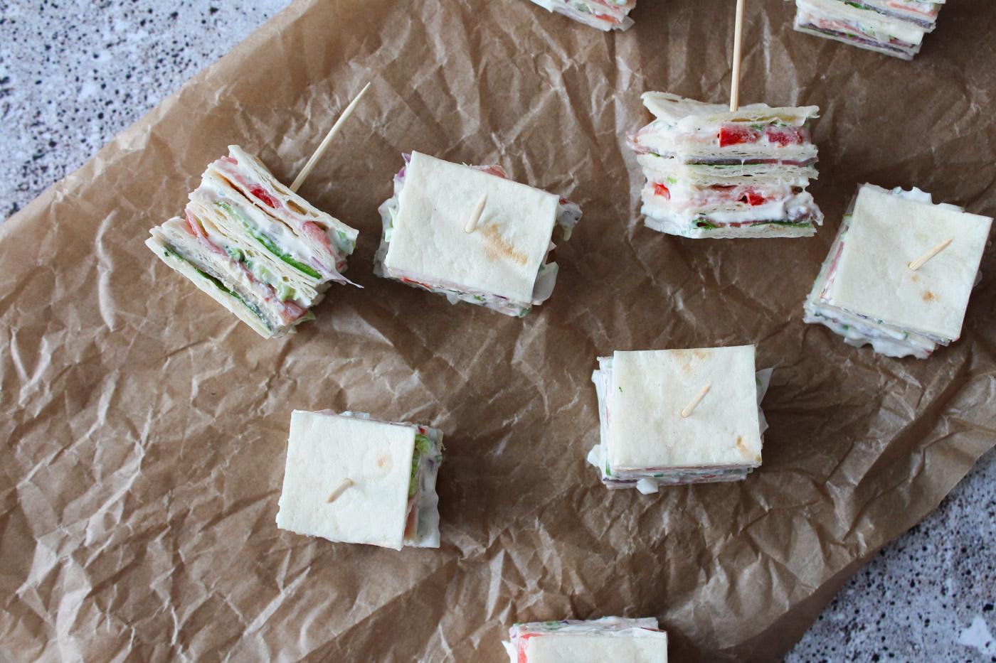 Tortilla Snacks På Pind