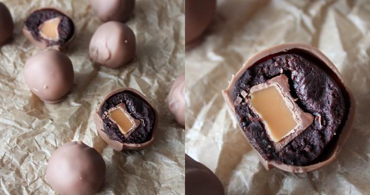 Chokoladekage Trøfler Med Rolos