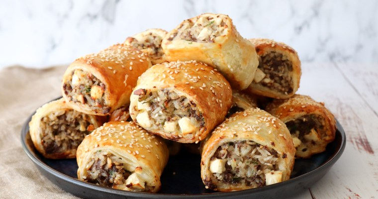 Græsk Farsbrøds Hapsere – Butterdejshapsere Med Oksekød Og Feta