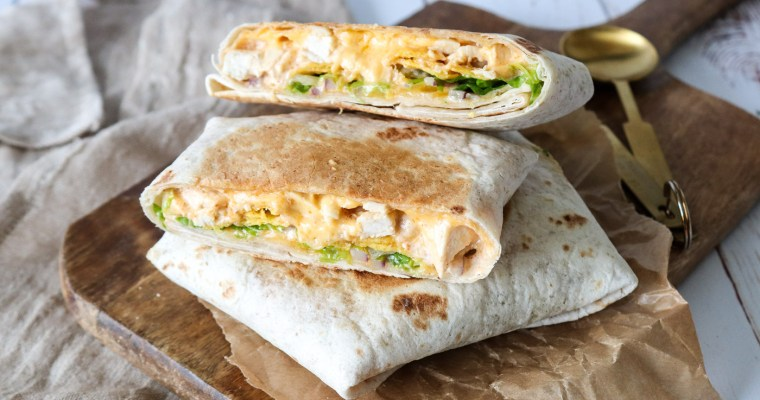 Kylling Crunch Wraps