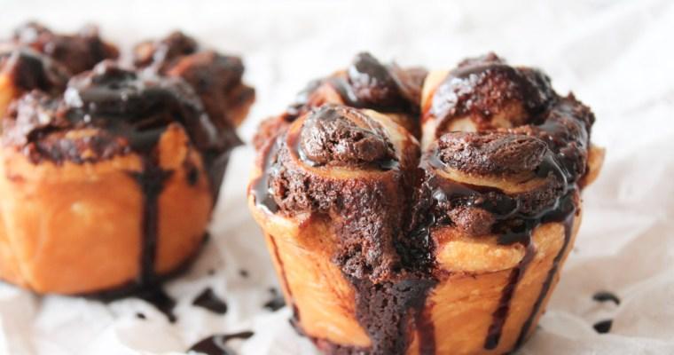 Anderledes Nutella Muffins Med Butterdej