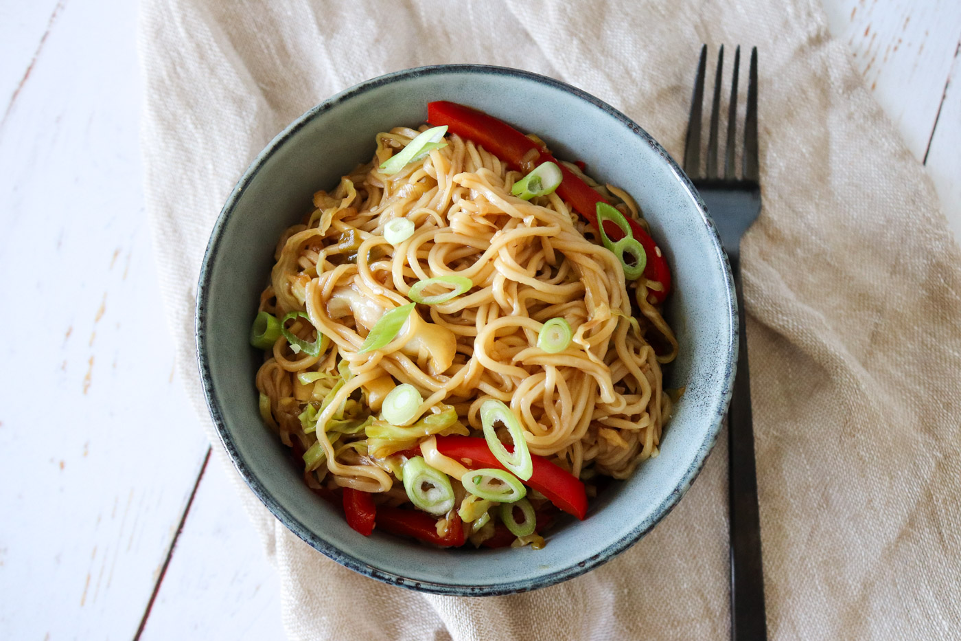Chow Mein – Lækre Stegte Nudler Med Grøntsager
