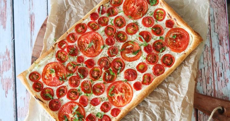 Lækker Tomattærte Med Butterdej Og Flødeost – Skøn Som Forret