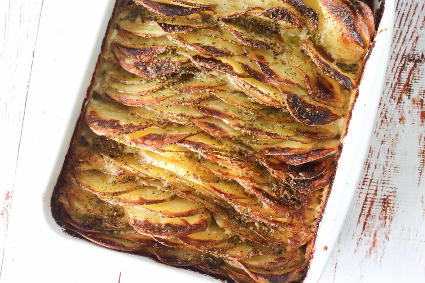 De Bedste Flødekartofler – Lækre Flødekartofler Med En Sprød Top