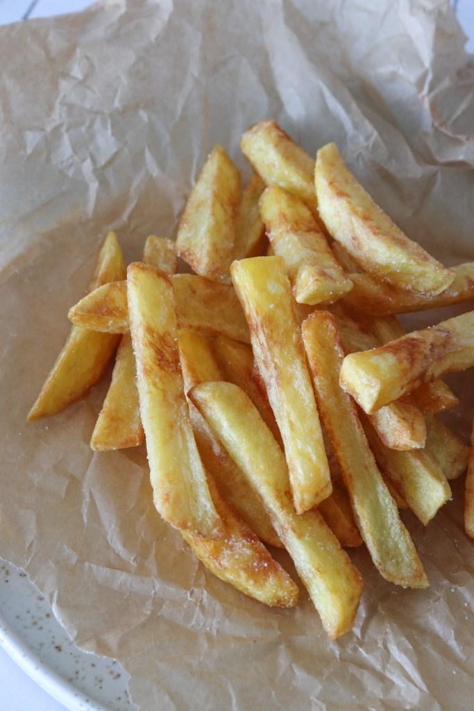 Sprøde Hjemmelavede Pomfritter - Hjemmelavede Pommes Frites