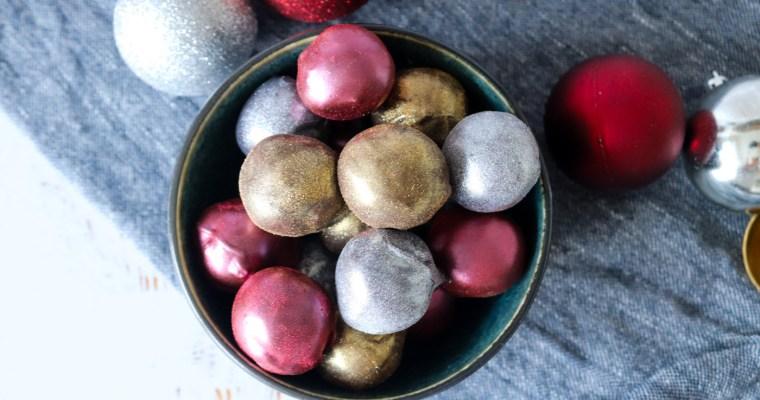 Konfekt Med Baileys Og Marcipan – Spiselige Julekugler – Juleslik