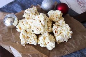 Popcornbrud Med Chokolade - Snack Til Jul Med Popcorn Og Chokolade