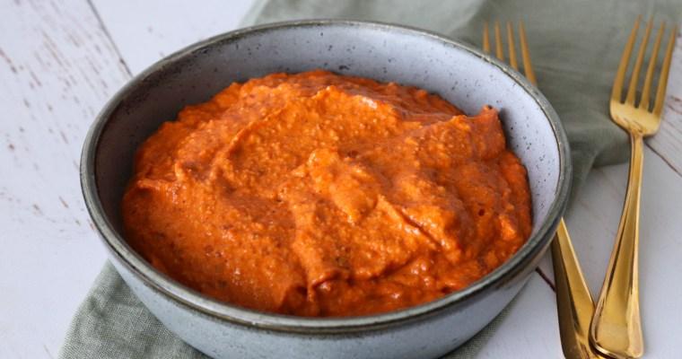 Hjemmelavet Romesco Sauce – Herlig Sauce Lavet På Bagte Peberfrugter