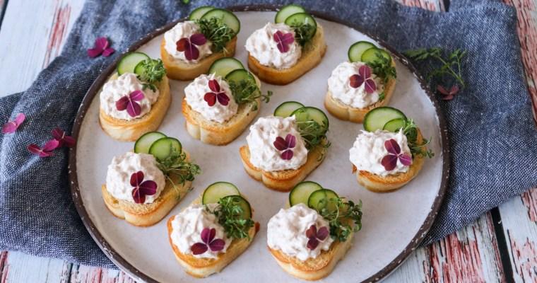 Nemme Hapsere Med Tunmousse Og Agurk – Lækker Snack