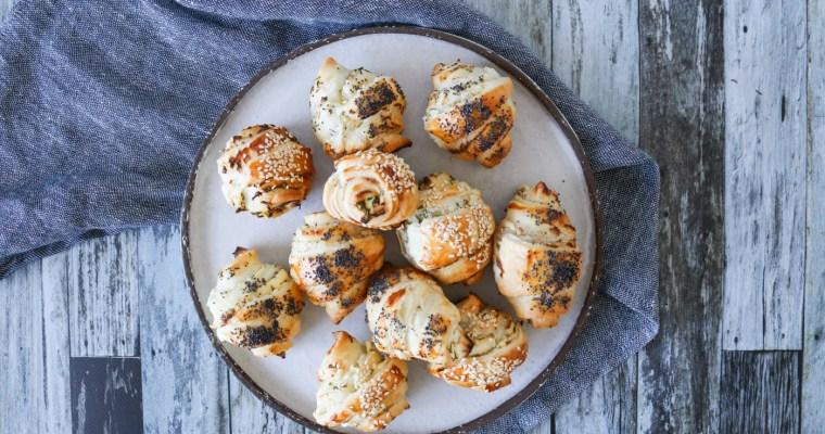 Mini Croissanter Med Cocktailpølser Og Flødeost – Mini Pølsehorn