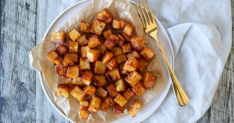 Sprøde Kartofler Stegt I Andefedt – De Bedste Pandestegte Kartofler