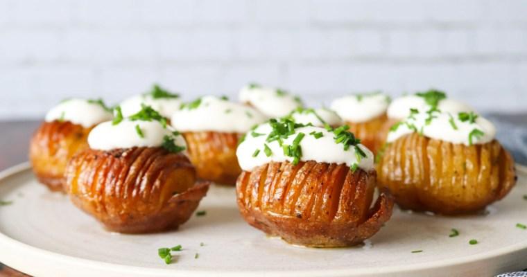 Hasselback Kartofler I Andefedt – Opskrift På Hasselback Kartofler