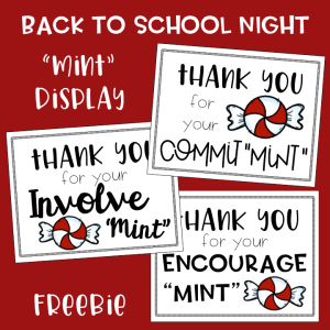 Back to School Night Mint Freebie