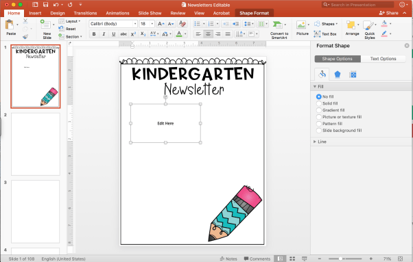 Using PowerPoint to Create Editable Resources