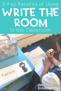 Don't you love finding hands on activities for your students? I do too! Read about the 5 key benefits of using Write the Room activities in your classroom.