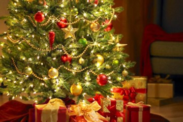Santa's Early Visit By Robert Stocker