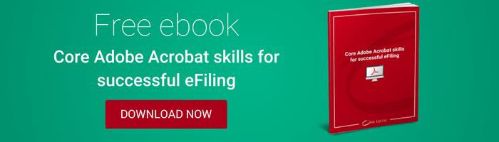 Adobe Acrobat skills