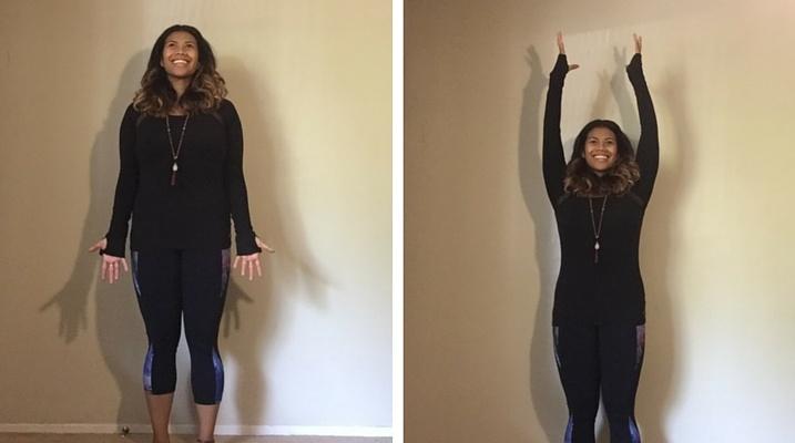 Yoga move 1