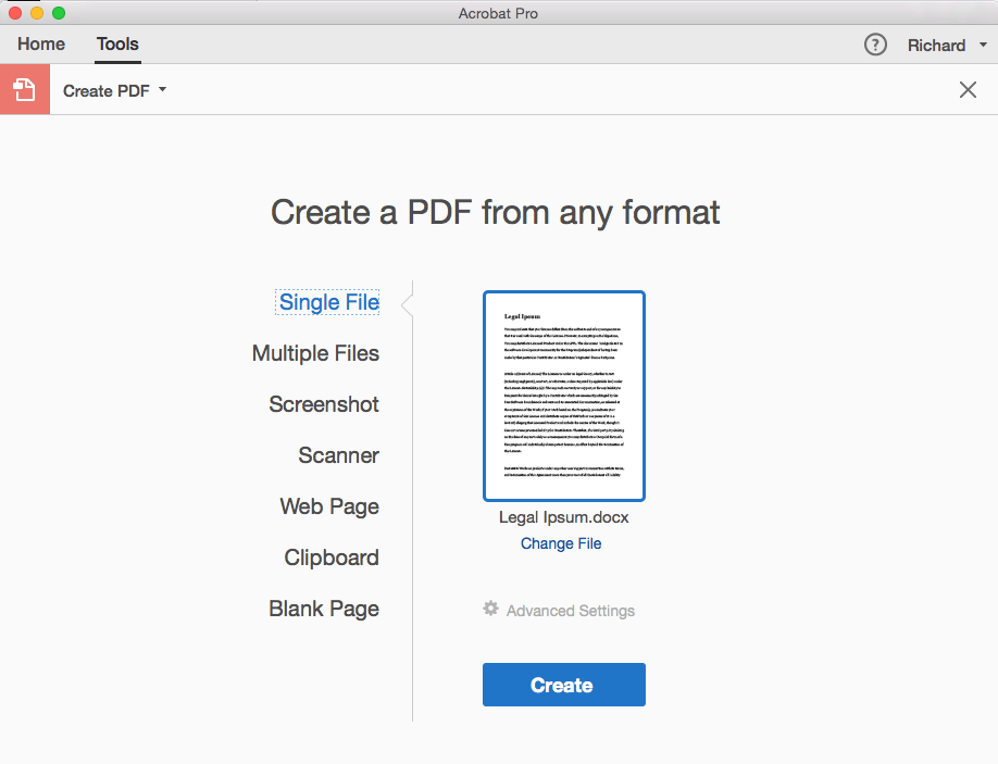 How to make a pdf text searchable one legal open the image of your file as a pdf by using the create pdf tool in acrobat choose create pdf in the tools menu select your file and click create fandeluxe Image collections