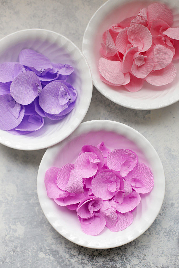 How to Make Crepe Paper Wisteria  One Lovely Life