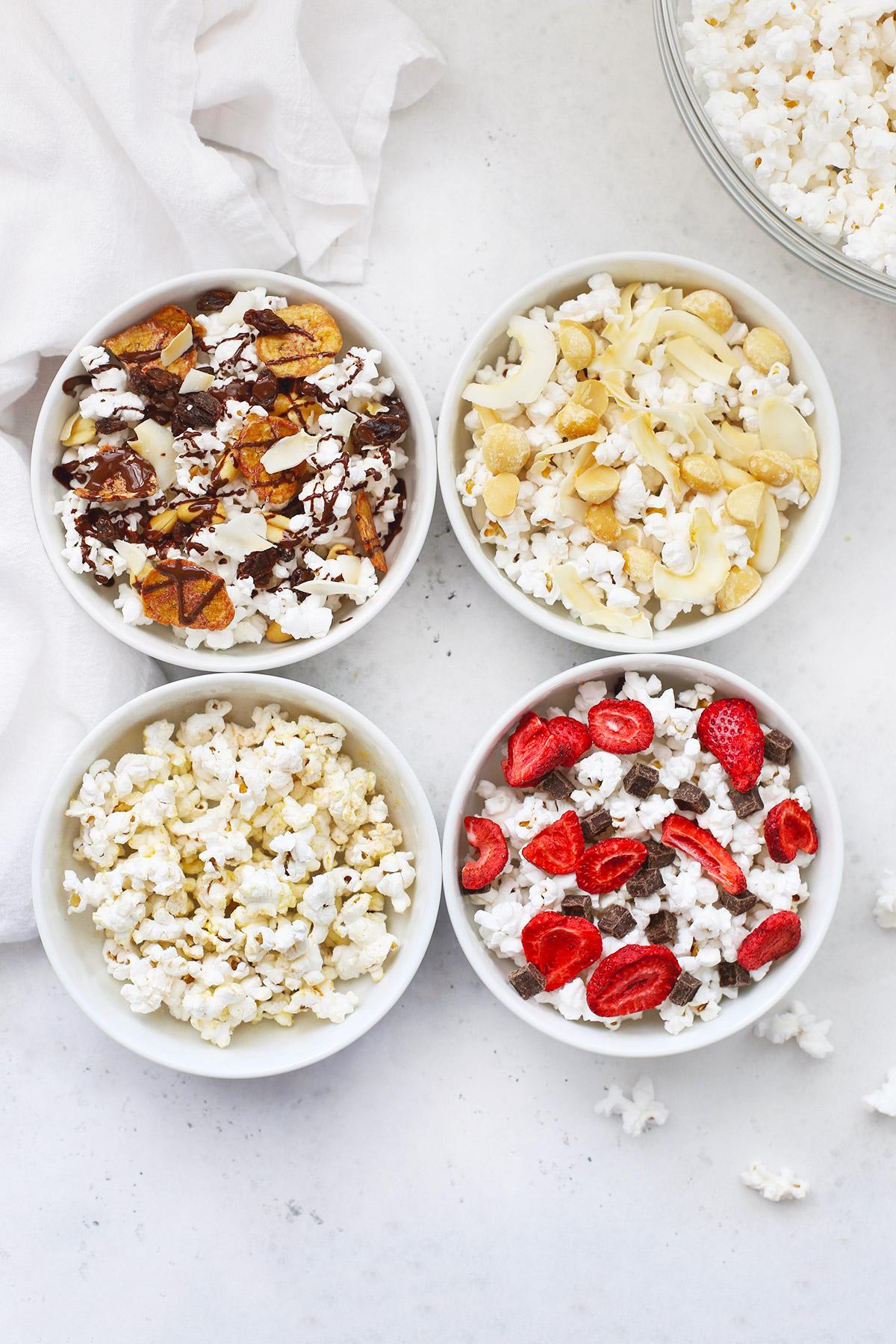 homemade microwave popcorn popcorn snack mixes