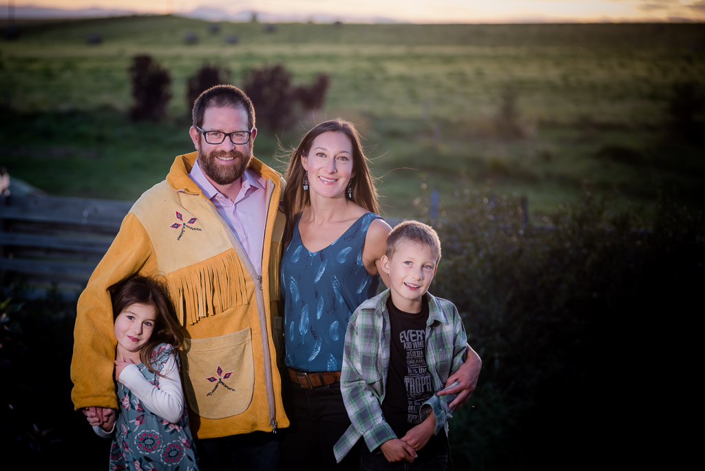 Schmaltz Fall Family Photo Shoot - One Love Studios