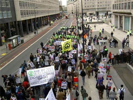 Anti-war demo