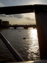 The Thames, as the June sun gets low