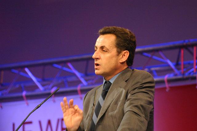 Nicholas Sarkozy at Le Web 3