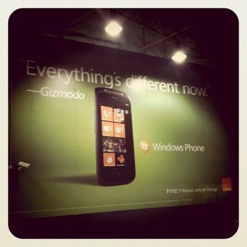 Windows Phone 7 & Gizmodod