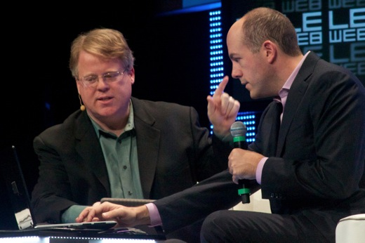 Robert Scoble and Mike Jones