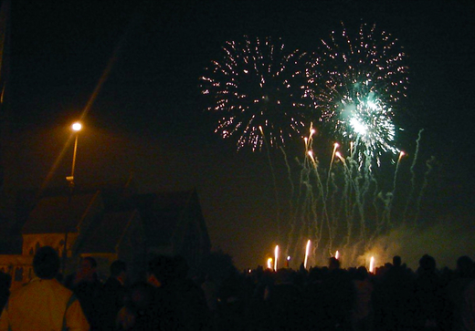 Fireworks over Blackheath