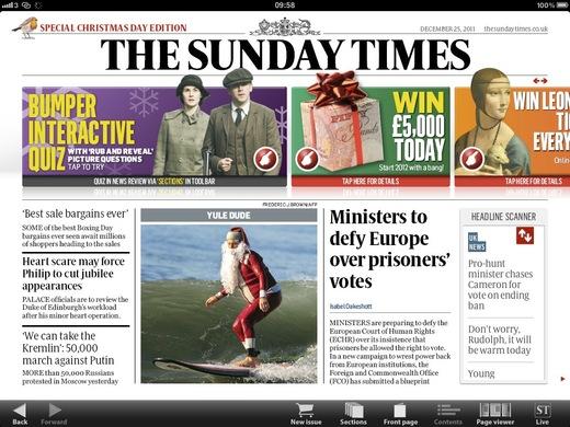 Sunday Times Christmas Edition