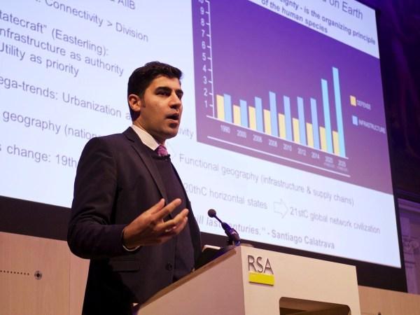 Parag Khanna at the RSA in London