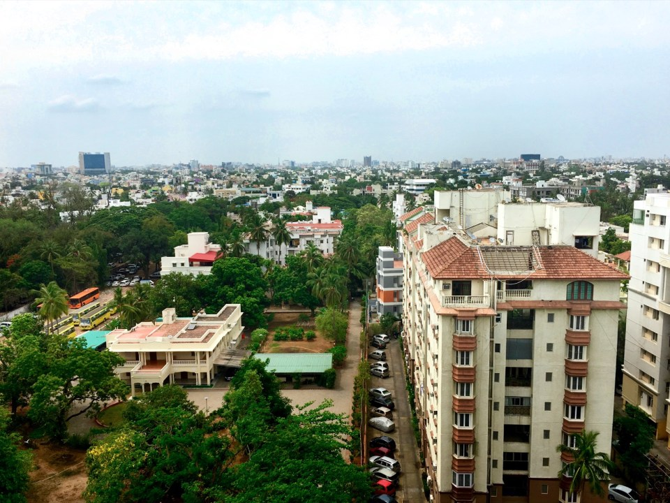 Chennai from The Raintree