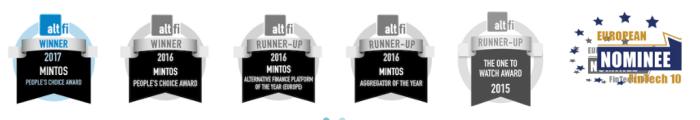 Mintos Altfi awards