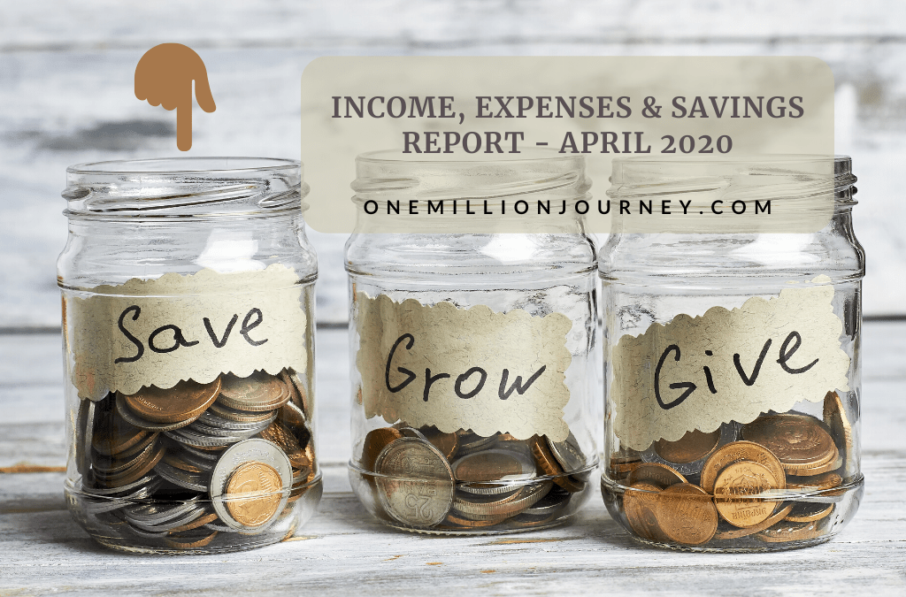 Income, Expenses & Savings report - April 2020